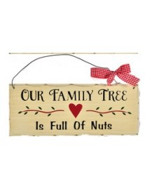 Country Kitchen Family Tree Wall Plaque