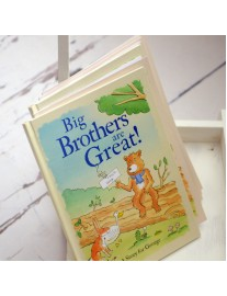 Big Brothers are Great Book Personalised