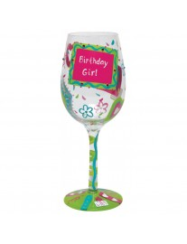 Lolita Birthday Girl Too Wine Glass