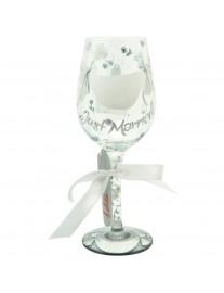Lolita Just Married Wine Glass