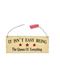 Queen of Everything Wall Plaque