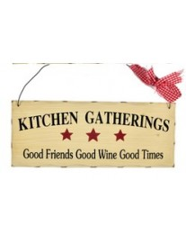 Country Kitchen Gatherings Plaque