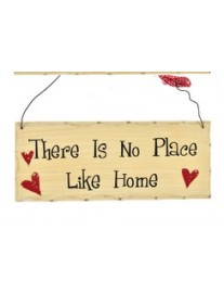 No Place Like Home Wall Plaque