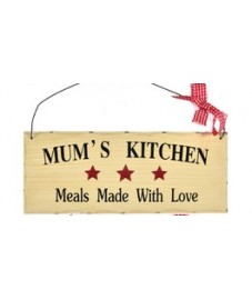 Mums Kitchen Wall Plaque