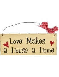 Love Makes a Home Wall Plaque