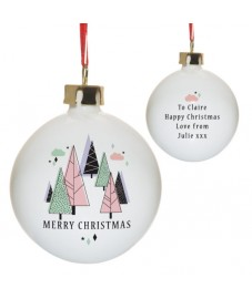Pastel Christmas Bauble
