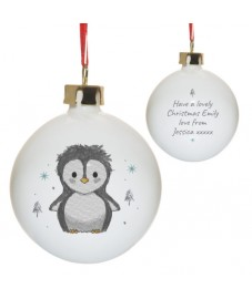 Pebbles The Penguin Bauble