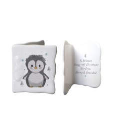 Pebbles The Penguin Message Card