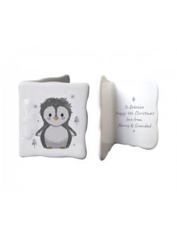 Pebbles The Penguin Message Card