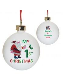 'My 1st Christmas' Bauble