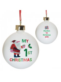 Personalised 'My 1st Christmas' Bauble