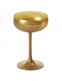 Personalised Olympic Champagne Saucer