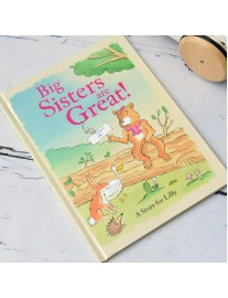 Big Sisters are Great Book Personalised