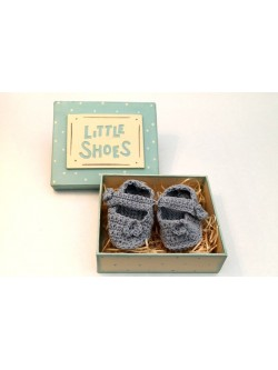 Little Shoes in Box - Blue