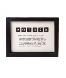 MOTHER Dictionary Framed Print