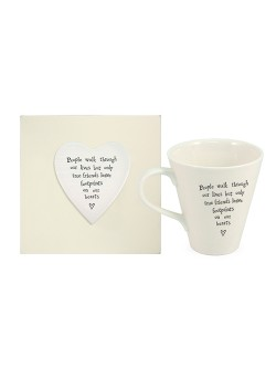 Boxed People Walk Through Our Lives Mug
