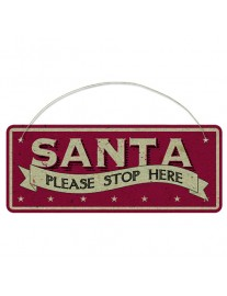 East of India Santa Stop Here