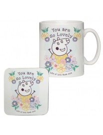 Peppa Pig 'Mummy Pig' Mug and Coaster