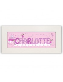 Little Princess Name Frame