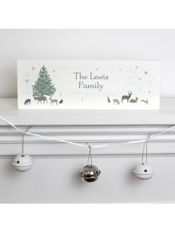 Personalised 'A Winter's Tale' Mantle Block