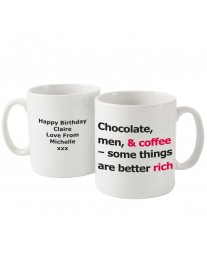 Better Rich Slogan Mug