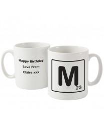 Letter and Age Mug