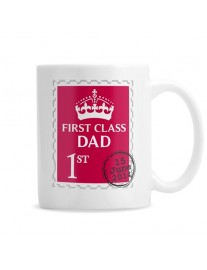 Personalised '1st Class' Mug