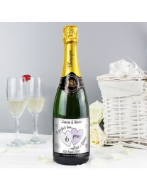 A Perfect Love Personalised Champagne