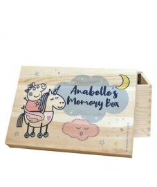 Peppa Pig Wooden Memory Box