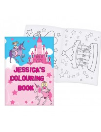 Personalised Princess Colouring Book