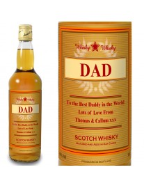 Personalised Luxury Whisky