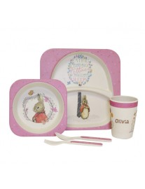 Personalised Flopsy Dinner Set