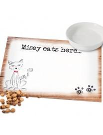 Scribble Cat Placemat