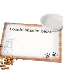 Scribble Bunny Placemat
