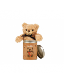 Personalised Valentines Day Teddy in a Tin
