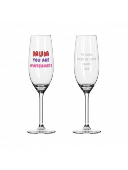 Personalised MUM YOU ARE ...... Champagne Flute