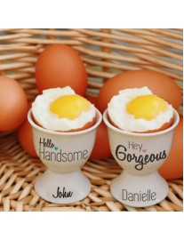 Handsome & Gorgeous Egg Cups