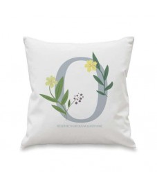 Personalised Floral Design Cushion