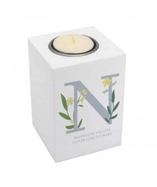 Personalised Initial Tealight Holder