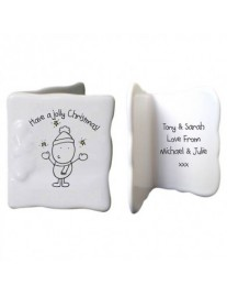 Have A Jolly Christmas Personalised Message Card