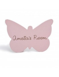 Personalised Butterfly Door Sign