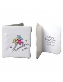 'Especially For You' Bone China Message Card