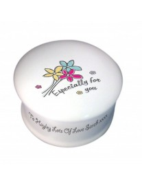 'Especially For You' Bone China Trinket Box