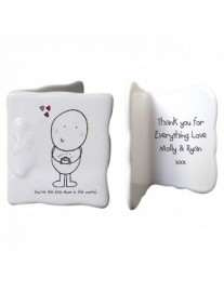Mother's Day Bone China Message Card