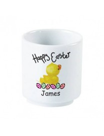 Personalised Easter Chick Eggcup