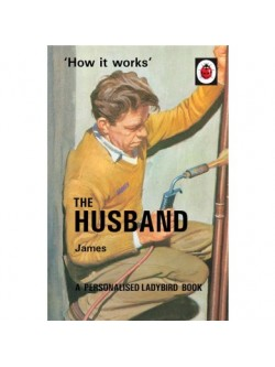 Personalised 'The Husband Ladybird Book