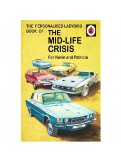 Personalised 'Mid-life Crisis' Ladybird Book