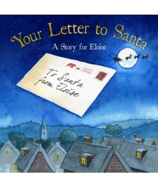 Personalised 'Your Letter To Santa' Hardback Book