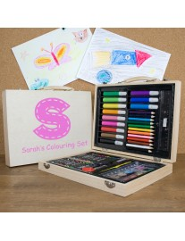 Personalised Children's Colouring In Set
