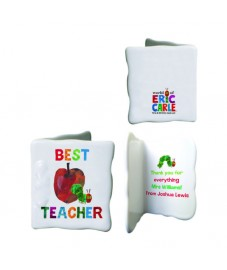 Personalised Very Hungry Caterpillar Best Teacher Message Card
